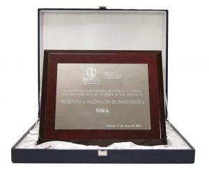 """Sika recibe el premio de """"Colaboración en Investigación"""" de la Universidad Politécnica de Madrid"""